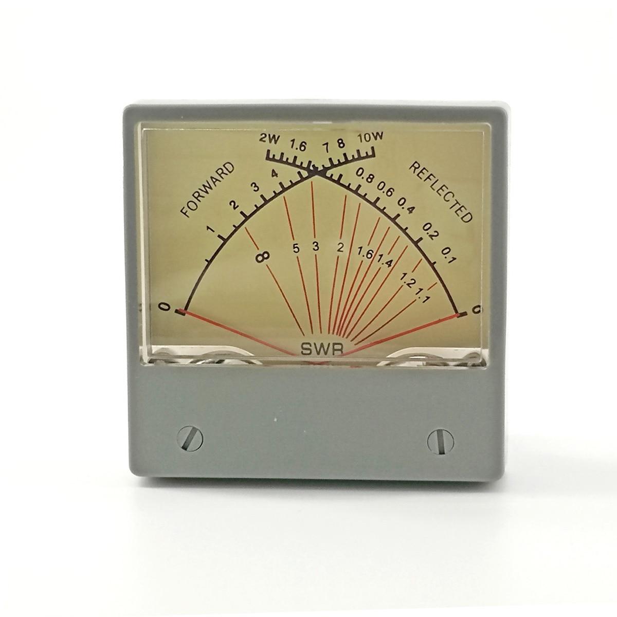 SWR, medidor de relación de onda estacionaria, Forwad 10W, reflexivo, 2W, Panel de doble SZ-70