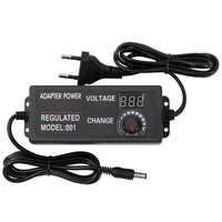 Universal Adjustable AC DC Power Adapter Voltage Regulated Adaptor EU Plug 9-24V 3A 72W / 3-24V 2A 48W / 3-12V 5A 60W