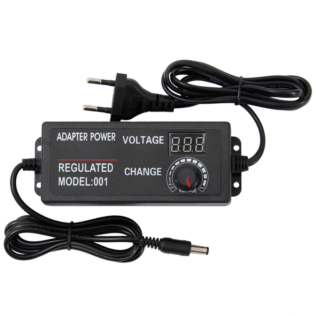 Universal Adjustable <font><b>AC</b></font> <font><b>DC</b></font> Power Adapter Voltage Regulated <font><b>Adaptor</b></font> EU Plug 9-24V 3A 72W / 3-24V <font><b>2A</b></font> 48W / 3-<font><b>12V</b></font> 5A 60W image