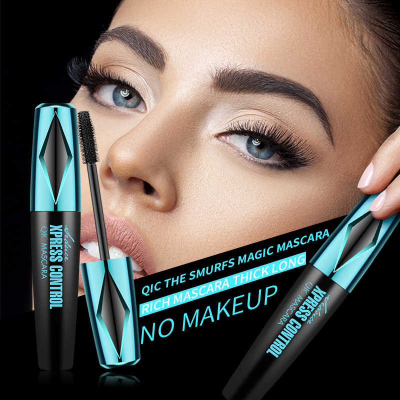 Maquillage magique Mascara cils friser les yeux cosmétiques noir liquide stylo maquillage Mascaras cils épais cils outil Smoky brosse