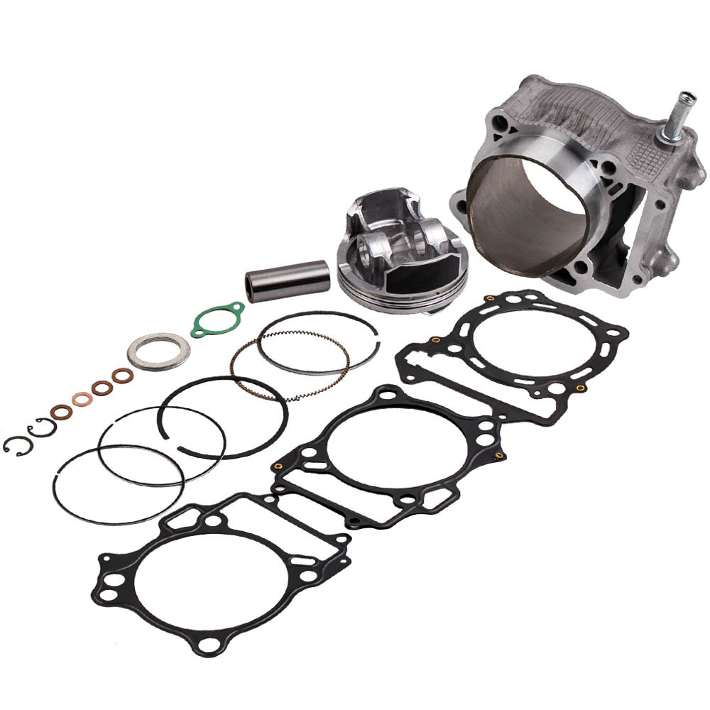 Cylinder Head Piston Top End Kit for Suzuki LTZ400 434cc Big Bore 94mm 2003-2014,for Kawasaki KFX400 2003-2006