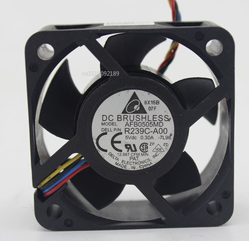 Free Shipping Original For AFB0505MD R239C-A00 5V 0.30A 5020 5cm 4 Wire Server Fan