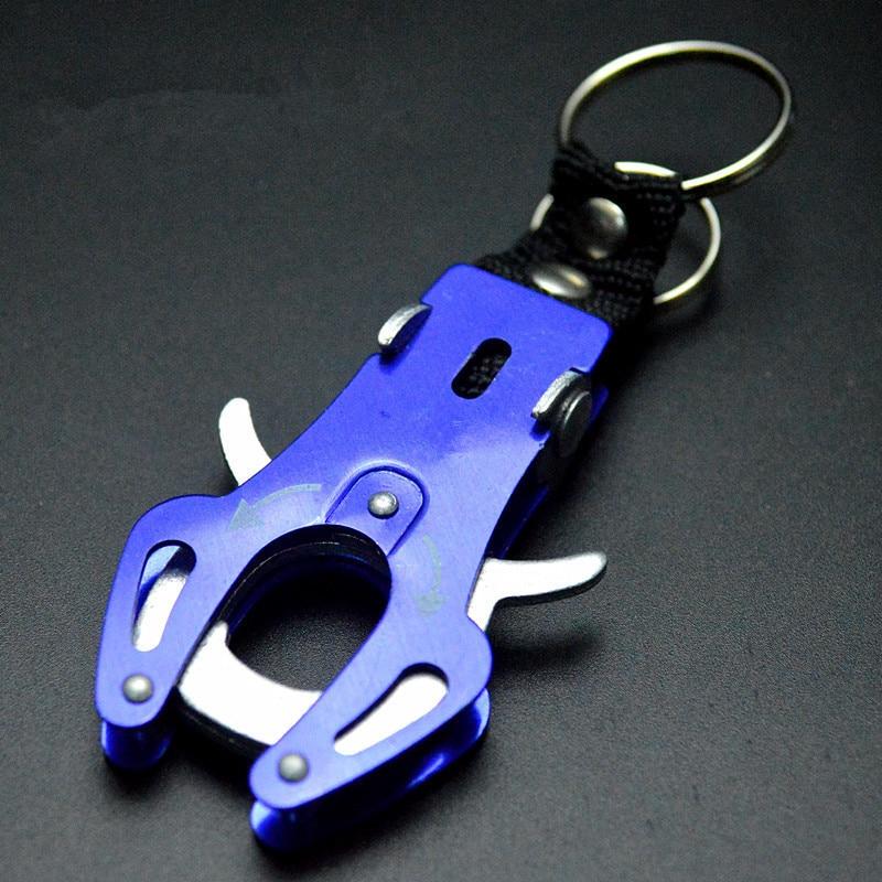 1Pc Fashion Delicate Climb Hook Carabiner Clip Lock Keyring Keychain Key Multicolor Durable Ring Chain Rock Climbing