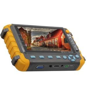 Image 2 - 5 بوصة TFT LCD 1080P 5MP 4MP 4 في 1 TVI العهد السيدا النظير CCTV تستر الأمن فاحص الكاميرا رصد HDMI المدخلات الصوت اختبار