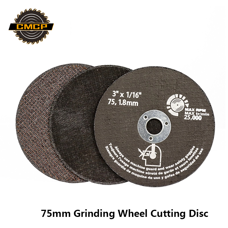 75mm Grinding Wheel Cutting Discs 75mm Circular Saw Blade For Metal Cutting Fiber Cutting Disc Abrasive Tools