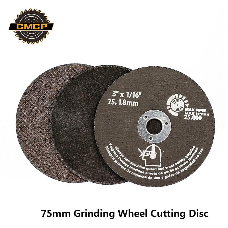 75mm Grinding Wheel Cutting Discs 75mm Circular Saw Blade For Metal Cutting Fiber Cutting Disc Abrasive Tools