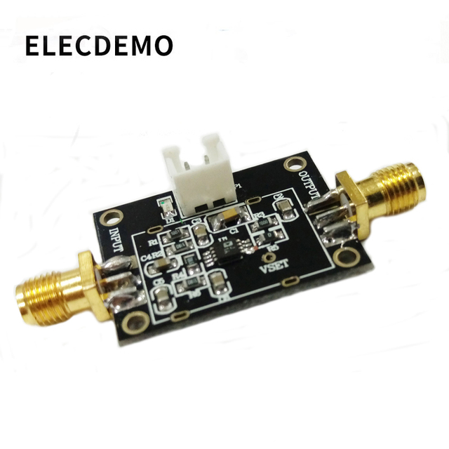 AD8314 Module 45dB RF Detector / Controller 100MHz 2.7GHz RF Signal Measurement Function demo board