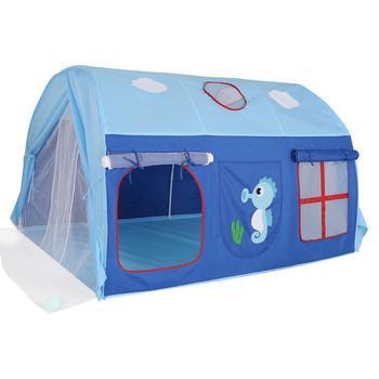 Namiot wewnętrzny dla dzieci gra do gry wewnątrz dom dziecka namiot zamek gry dom namiot tunelowy chłopiec i dziewczyna podział łóżko artefakt namiot z łóżkiem tanie i dobre opinie MINOCOOL Other none 13-24 miesięcy 2-4 lat 5-7 lat Children s bed tent Składany dropshipping polyester Indoor tent kid tent indoor