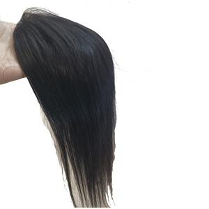 """Image 3 - 1Pcs 5X5 """"Free Style Donna Mono Veletta nella chiusura Accessori Luce Del Merletto Top Con Circostante Dellunità di elaborazione, densità 120% di Remy dei capelli Umani di Base"""