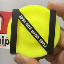 10 разных цветов мини карманные гибкие летающие диски на молнии можно выбрать мягкий новый спин Zipchip в захватывающей игре летающий диск