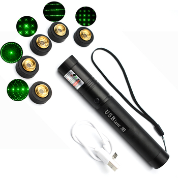 Powerful 5mW Lazer Pointer pen Burning Match Green Laser 303 Laser pointe Military 532nm choose USB Charging or 18650 battery most powerful military 100w 100000m 532nm green laser pointer pen flashlight lazer light focus burning burn cigarettes hunting