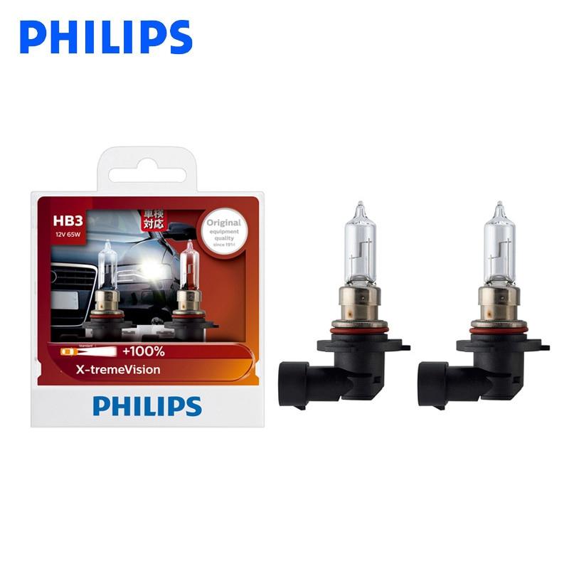 Philips Xtreme Vision 130/% H7 Headlight Bulbs Twin Pack 12972XV+S2