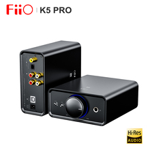 FiiO K5 Pro Hi-Fi аудио AK4493 с Deskstop усилитель AMP DAC с RCA/6,35/3,5 мм выход USB-B/OPT/COAX/RCA Вход 768 K/32Bit DSD512