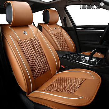 kokololee 1 PCS car seat covers for BMW e30 e34 e36 e39 e46 e60 e90 f10 f30 x3 x5 x6 x1 car seats Protector Automobiles Seats image