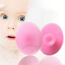 6 цветов силиконовая Косметическая моющая Подушечка Для лица отшелушивающая кисть для чистки лица Мягкая глубокая очистка лица TSLM1