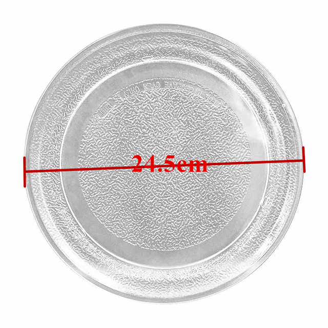 電子レンジのガラス板 24.5 センチメートルフラットための電子レンジギャランツ美的 LG 電子レンジ部品