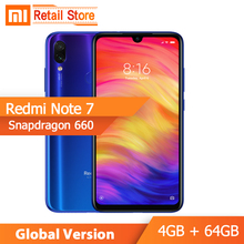 Xiaomi Redmi Note 7 4GB Quick Charge 4.0 Octa Core Fingerprint Recognition 48mp New Full-Screen