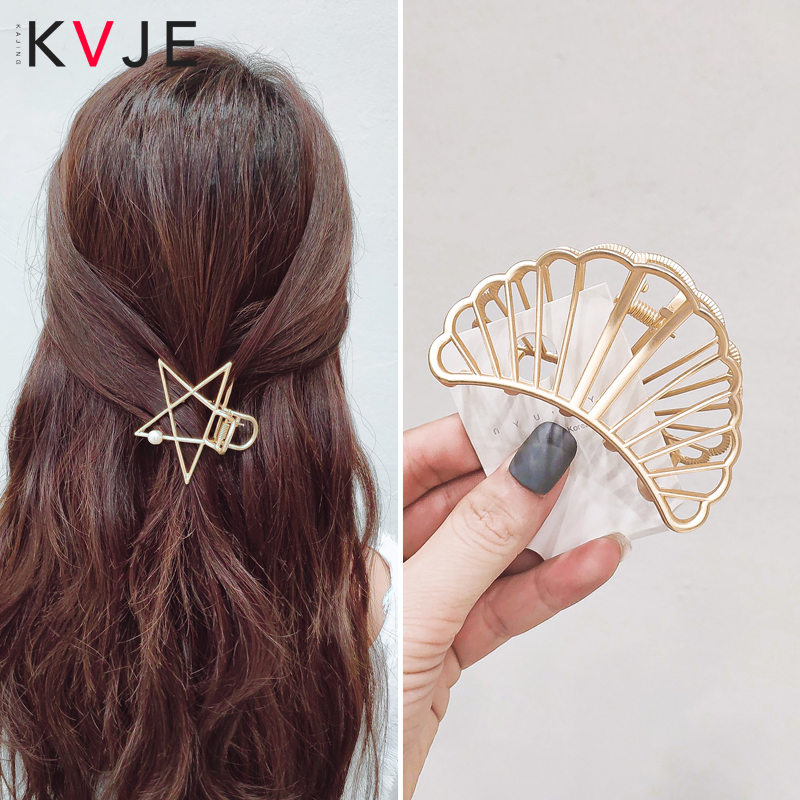 KVJE Hair Accessories For Girls  HOT SALE Low Price Promote Sales Pearl Hair Clip Or Women Accesories Hair Claw