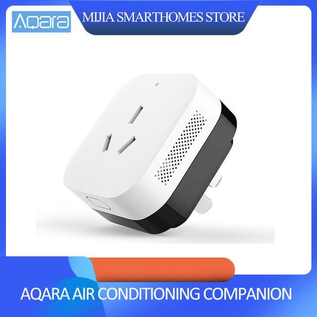 2018 Xiaomi Gateway 3 Aqara Air Conditioning Companion Gateway illumination Detection Function Work With Mi Smart Home Kits