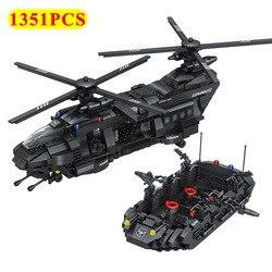Nowoczesne 1351 sztuk serii samolotów klocki inżynierii wojskowej samoloty ciekawe kreatywne cegły zabawki dla dzieci