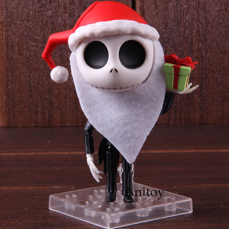 Nendoroid 1011 Jack Skellington The Nightmare Before Christmas PVC Action Figure Jack Skellington Doll Collectible Model Toy 1