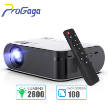 Mini Projector Portable WiFi Android 6.0 Projector for HD 1080P Video Proyector 2800 Lumens Phone Smart 3D Beamer Home Cinema