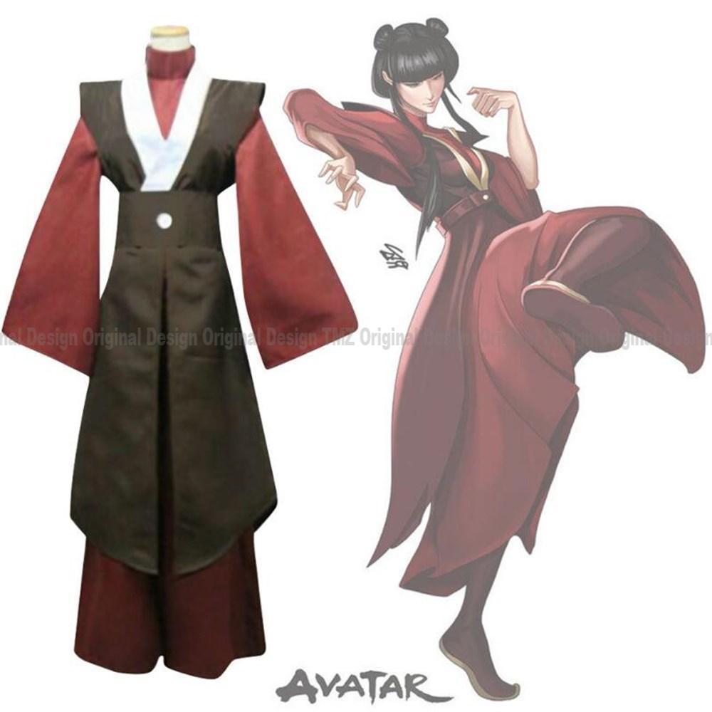 Avatar Die Last Airbender-fall Mai Cosplay Kostüme Anime Neue