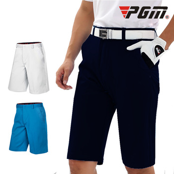 PGM męskie Golf szorty lato oddychające spodenki człowiek wysokiej elastyczna Fit-suszenie krótkie spodnie wygodne odzież golfowa XXS-XXXL KUZ029 tanie i dobre opinie COTTON spandex CN (pochodzenie) Dobrze pasuje do rozmiaru wybierz swój normalny rozmiar Stałe