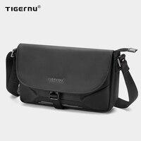 Tigernu-남성용 새로운 패션 도난 방지 슬링 가방, 경량 메신저 가방, 발수 숄더백, 남성 여행 남성 가방