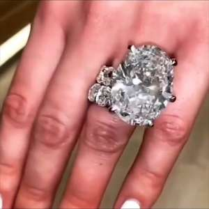 Bridal-Ring-Set Cubic-Zircon Oval Big-Stone Promise Luxury Jewelry 925-Sterling-Silver