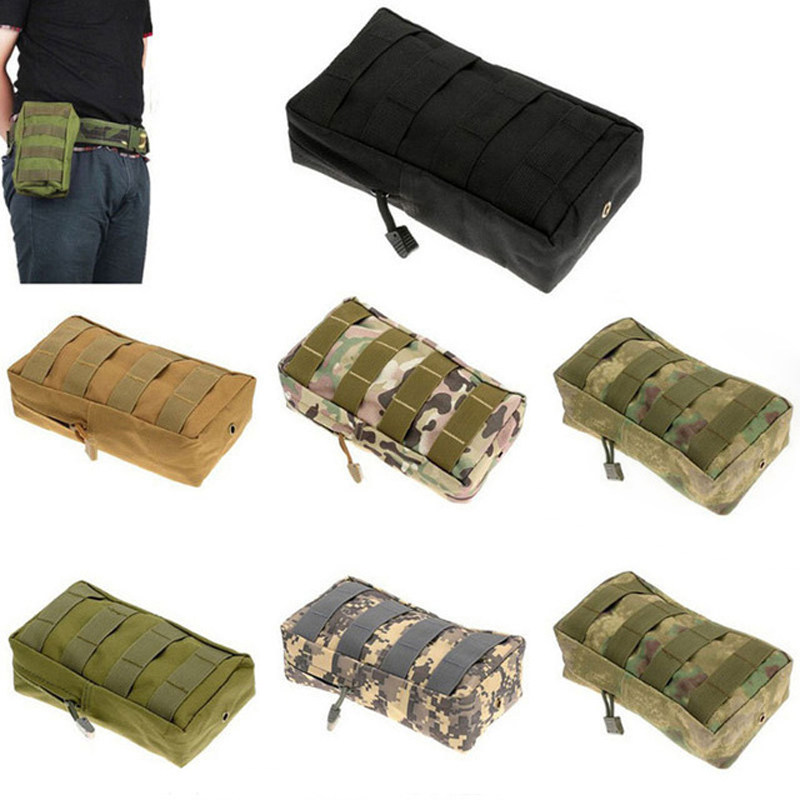 Outdoor Running Bag 1000D Waterproof Tactical Waist Bag Camping Hiking Utility Pouch EDC Keys Phone Holder Backpack Attached image