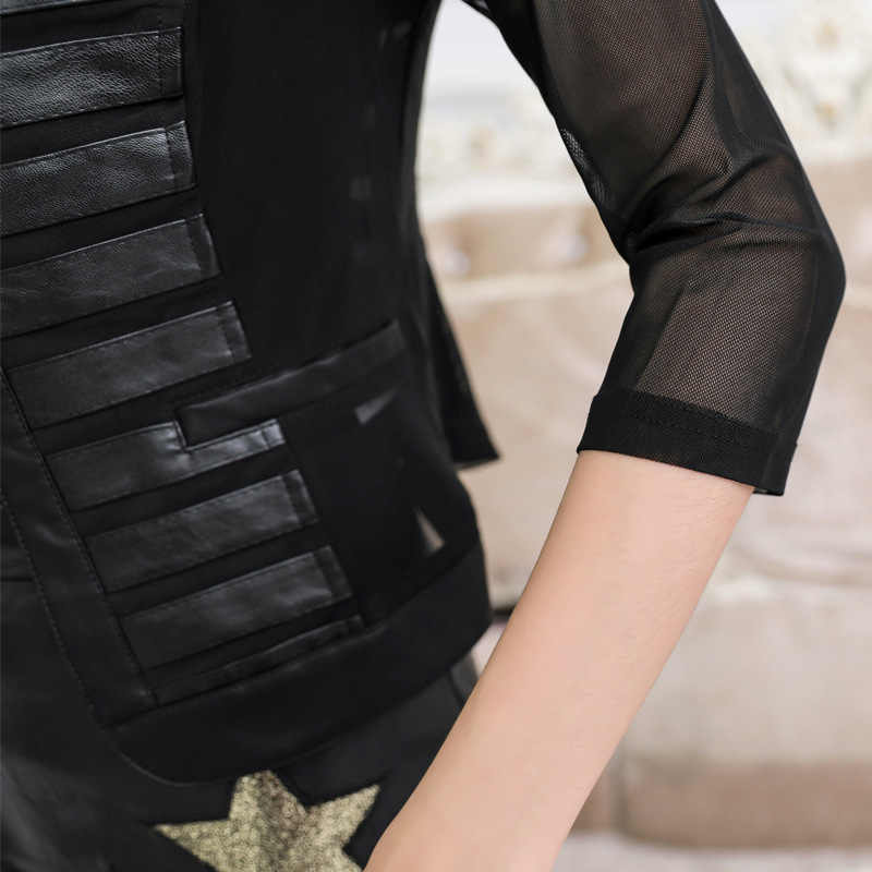 Faux FUR PU แจ็คเก็ตหนังฤดูใบไม้ผลิฤดูใบไม้ร่วงเสื้อผ้า 2020 เกาหลี Vintage Streetwear ผู้หญิง Chaqueta Mujer AT2974