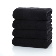 5pcs/Set 35*75cm 100%Cotton Black Face Towel Toalla De Cara Serviette Visage Facies Linteum Set Christmas Gift