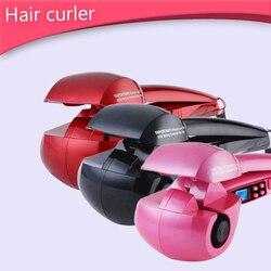 Ekran LCD lokówka automatyczna ogrzewanie przybory do pielęgnacji i stylizacji włosów ceramiczna lokówka do włosów Curl magiczne loki żelaza fryzjer|null|Uroda i zdrowie -