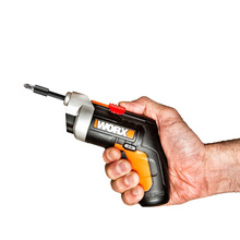 WORX WX252 Cordless Electric Screwdriver Household Rechargeable battery Screwdriver with  LED Torch