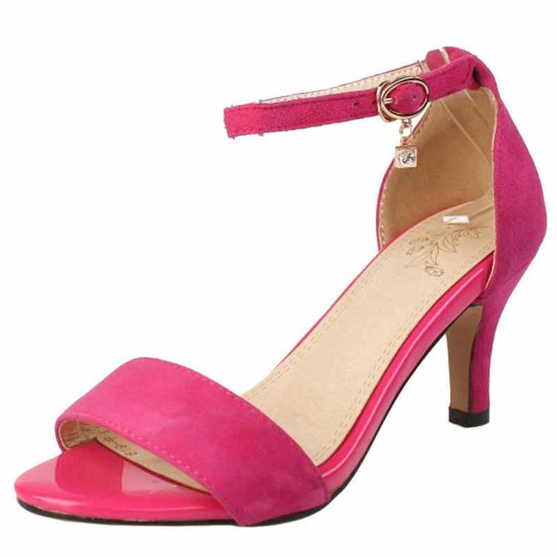 COOLULU Women Open Toe Sandals Ankle