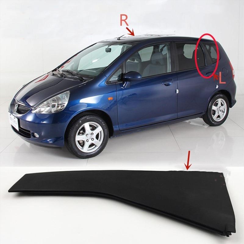Tylne okno samochodu C filar dekoracyjna pokrywa dla Honda FIT JAZZ GD1 GD3 2003-2008 drzwi zewnętrzne filar garnitur wykończenia panelu
