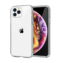 for iPhone 11 Pro Max Case Slim Soft Transparent Back Clear TPU Shockproof Protective Silicone Cover for iphone 11 Pro Case 2019 for iphone 11 11 pro case shockproof soft tpu bumper acrylic armor transparent back cover for iphone xi 11 pro max case clear