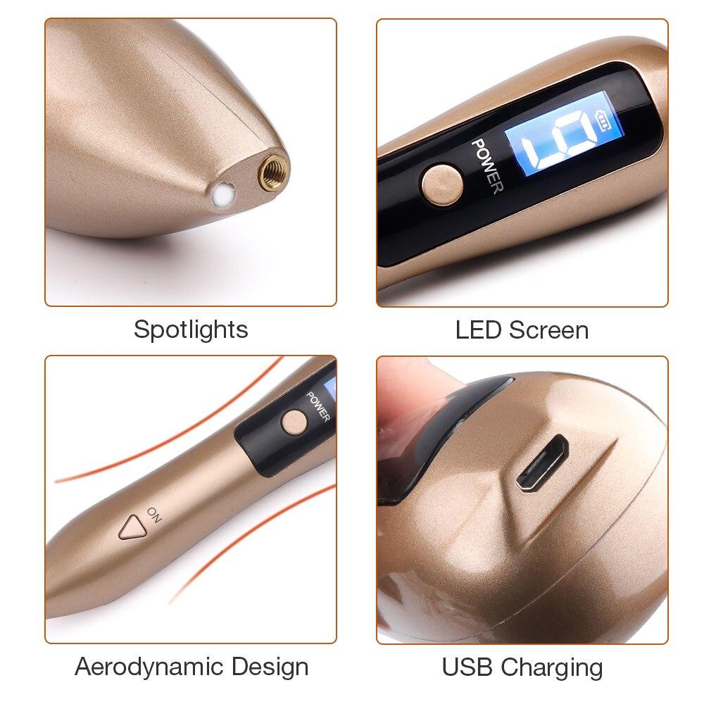 LCD plazma olovka LED osvjetljenje Lasersko uklanjanje tetovaža - Alat za njegu kože - Foto 5