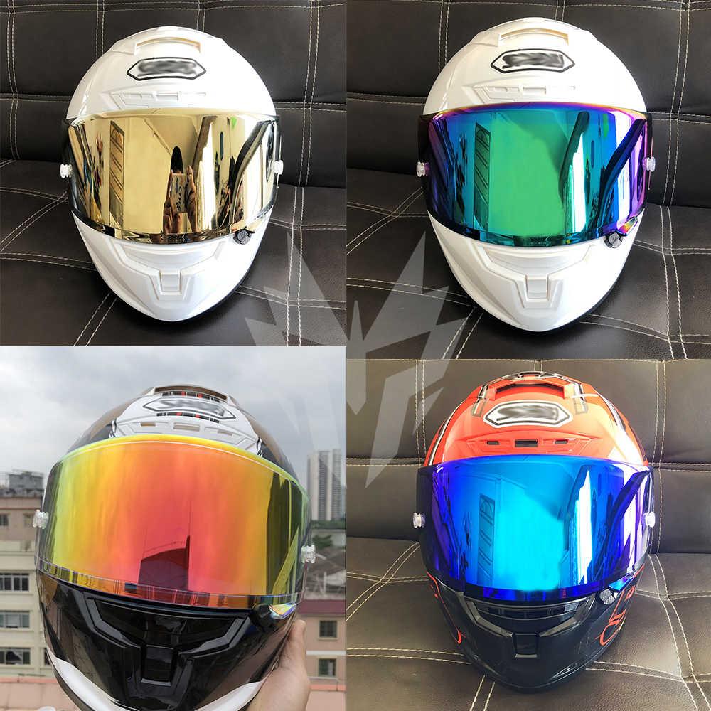 Visor   Helmets Pin-Lock Motorcycle Full-Face Glasses-Mask for X14