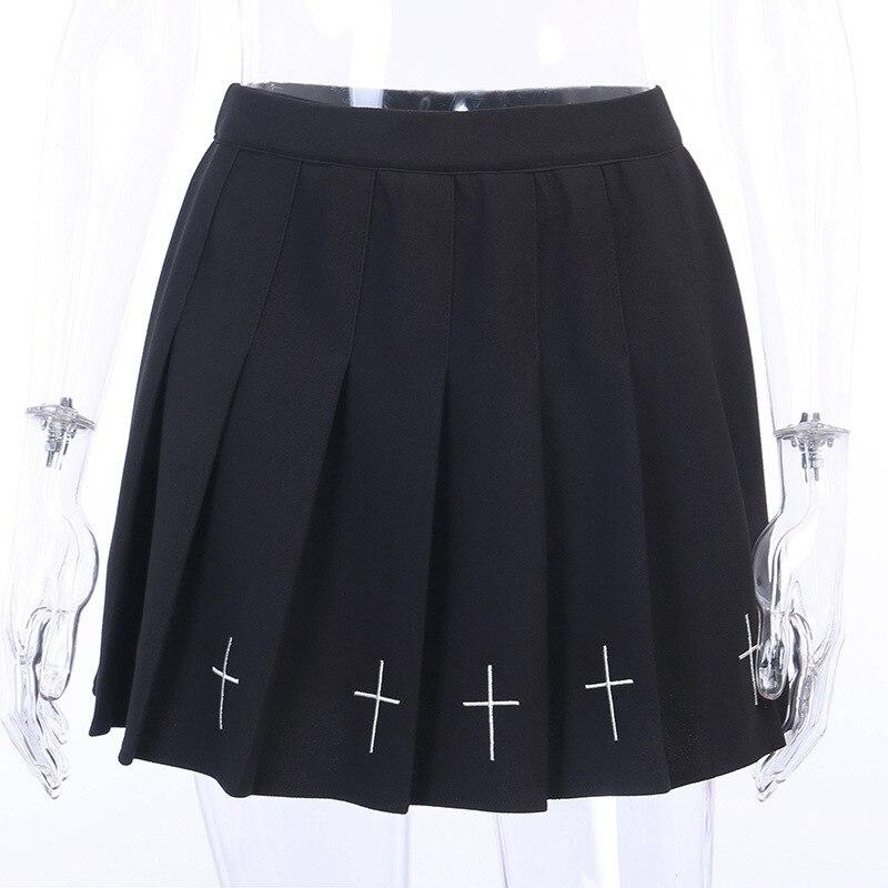 Lolita Black Pleated Skirt 3