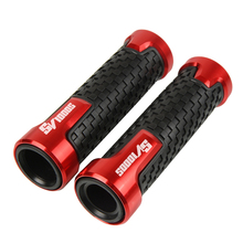 7/8 22mm Motorcycle Accessorie Handbar Handle Bar Handlebar AntiSkid comfort grip Motorbike Handle bar Grip For Suzuki SV1000S