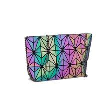 Messenger Bag Women's Chain Bag 2019 Fashion Luminous Geometric Sling Bag Sac Femme Shoulder Strap Female Bolsas Feminina 2019