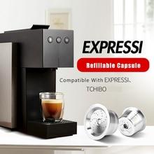 Caffitaly Tchibo Cafissimo ALDI Expressi 리필 가능 K fee 커피 캡슐 포드 필터 스테인레스 스틸 Cafeteira Tamper Spoon
