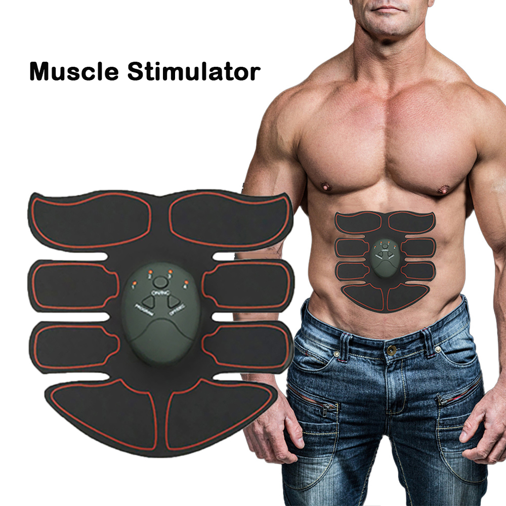 Wireless Abdominal Muscle Stimulator Smart Fitness Trainer Electric Body Slimming Weight Loss Machine Home Massage Shape Device
