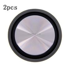 2PCS Bass Radiator Speaker Diaphragm Auxiliary Strengthen Ba