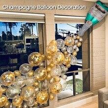 Butelka do szampana balon aluminiowy garnitur ślub wino na przyjęcie Party ozdobny balon duże dekoracje na przyjęcia urodzinowe dla dzieci