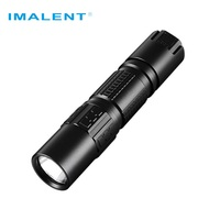 IMALENT DM21C Rechargeable Flashlight Cree XHP35 HI OLED Display 2000LM Mini Tactical Flashlight with Magetic USB +18650 Battery