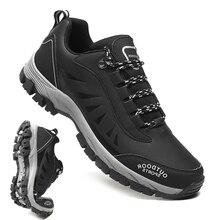 Sneakers Trekking-Shoes Fishing Hunting Hiking Outdoor Male Waterproof Winter Anti-Skid
