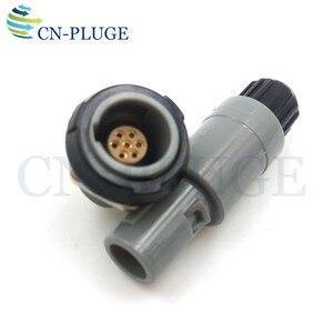 Image 3 - Złącze wtyczka i gniazdo z tworzywa sztucznego 7 pin sprzęt medyczny typu Push pull blokowania M14 PAG/PLG